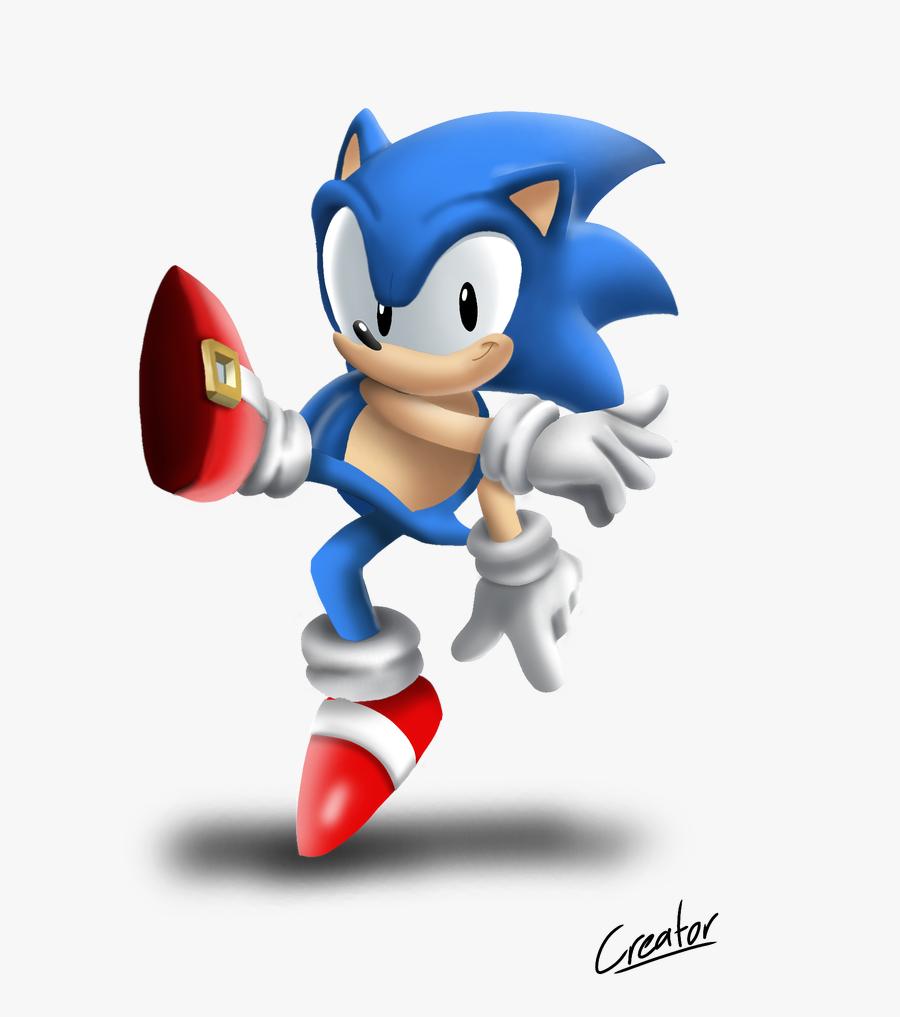 Sonic Png Smash Bros - Sonic Super Smash Bros Ultimate, Transparent Clipart