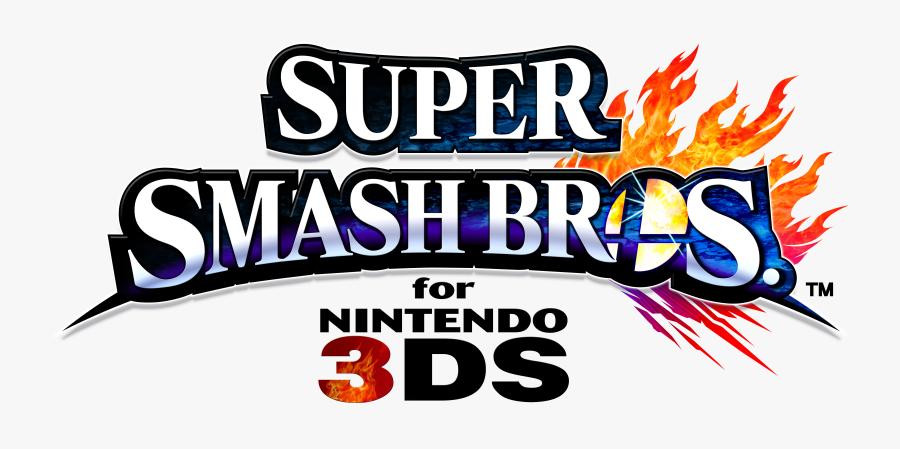 Smash 4 Logo Png - Super Smash Bros For Nintendo 3ds Logo, Transparent Clipart