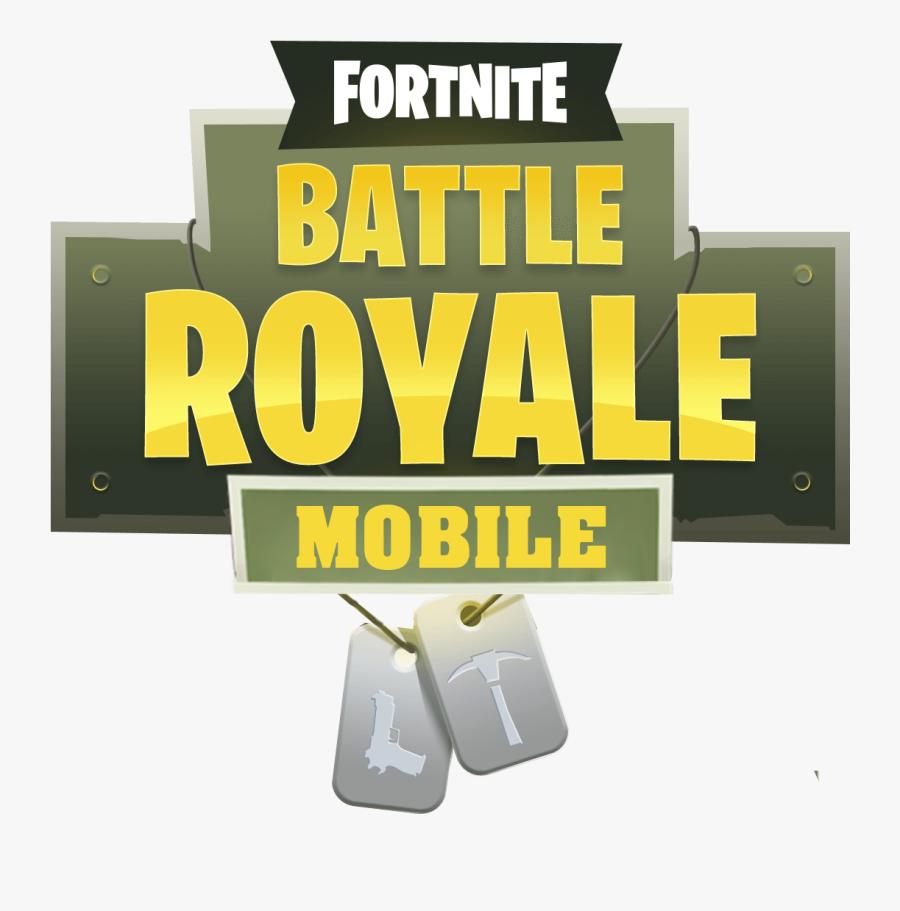 Fortnite Battle Royale Logo Banner - Fortnite Battle Royale Png, Transparent Clipart