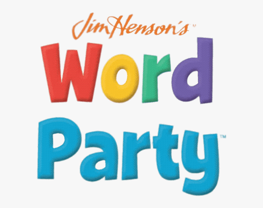 Word Party Logo - Word Wally Word Party, Transparent Clipart