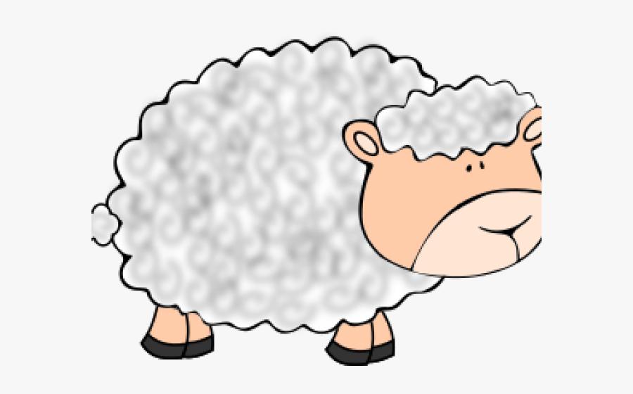 Funny Sheep, Transparent Clipart