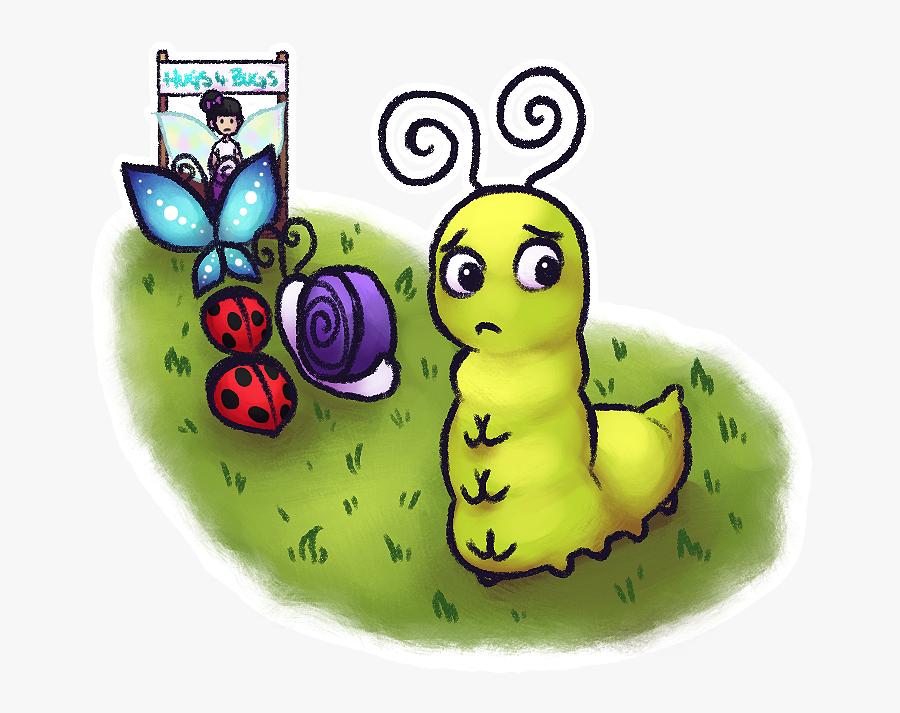 Caterpillar, Transparent Clipart