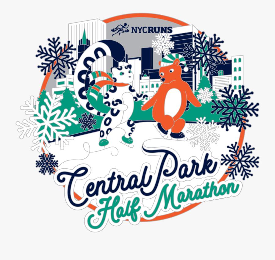 Central Park Half Marathon 2019, Transparent Clipart