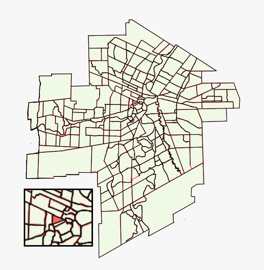 Location Of Central Park Within Winnipeg - Winnipeg Density Map, Transparent Clipart