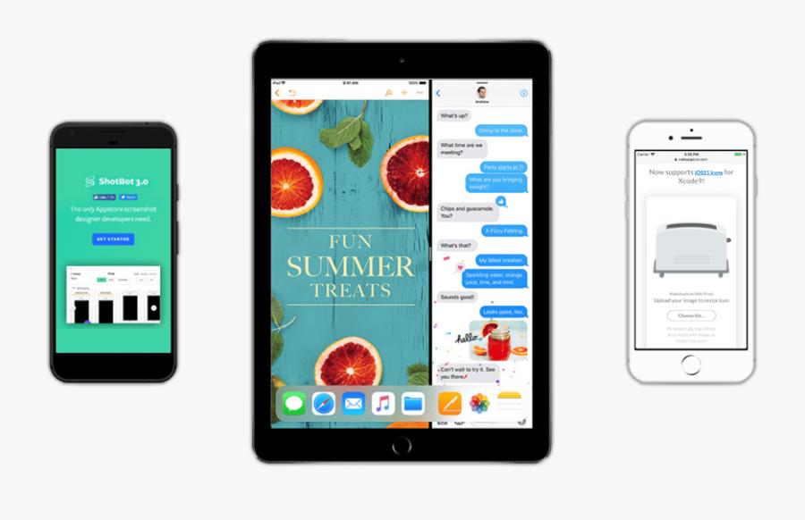 Clip Art Device Mockups - Ipad Pro 11 Iphone X, Transparent Clipart