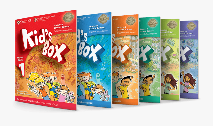 Covers Kidsboxupdated - Kid's Box 1 Second Edition Activity Book, Transparent Clipart