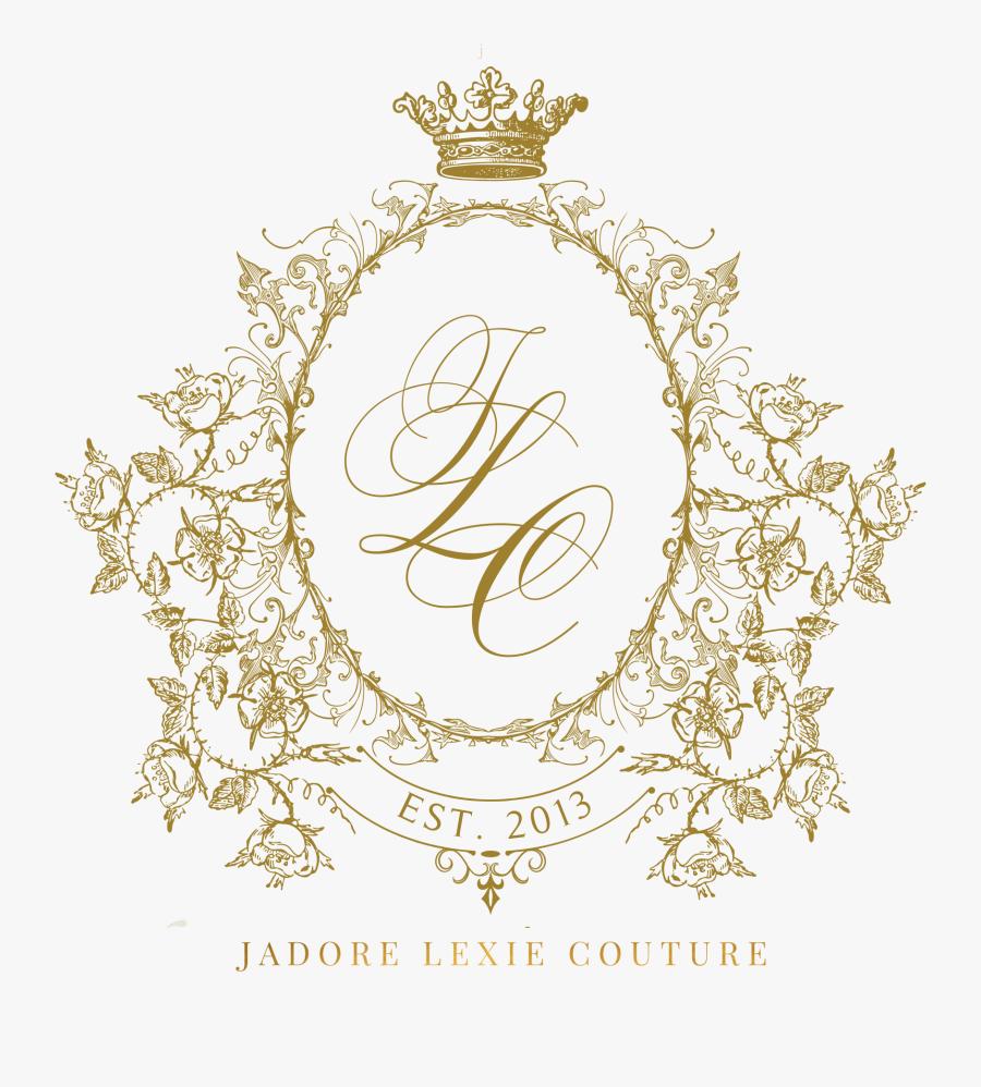 Clip Art J Adore Fashion Instagram - Royal Wedding Logo Design, Transparent Clipart