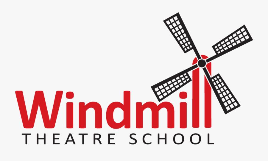 Windmill Theatre School Stock, Transparent Clipart