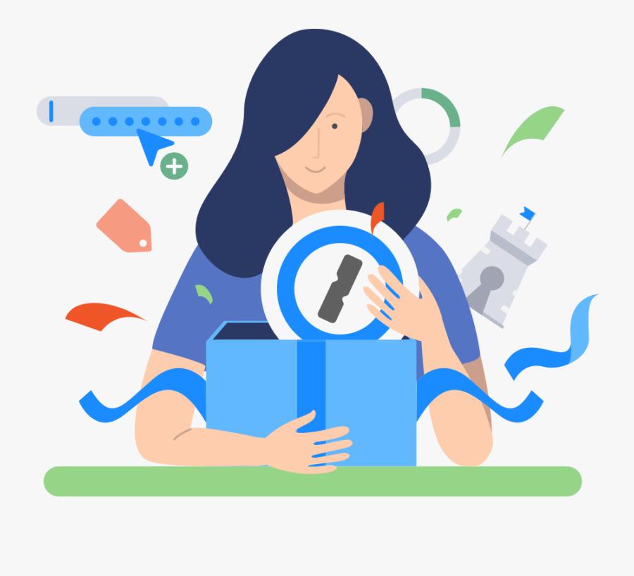 Upgrade To 1password - Cartoon, Transparent Clipart