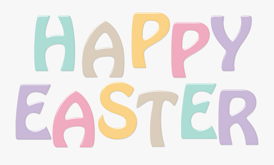 Happy Easter Fun Pictures - Happy Easter Words Clipart, Transparent Clipart