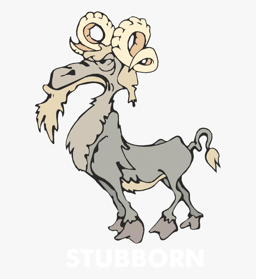 Stubborn Clip Art