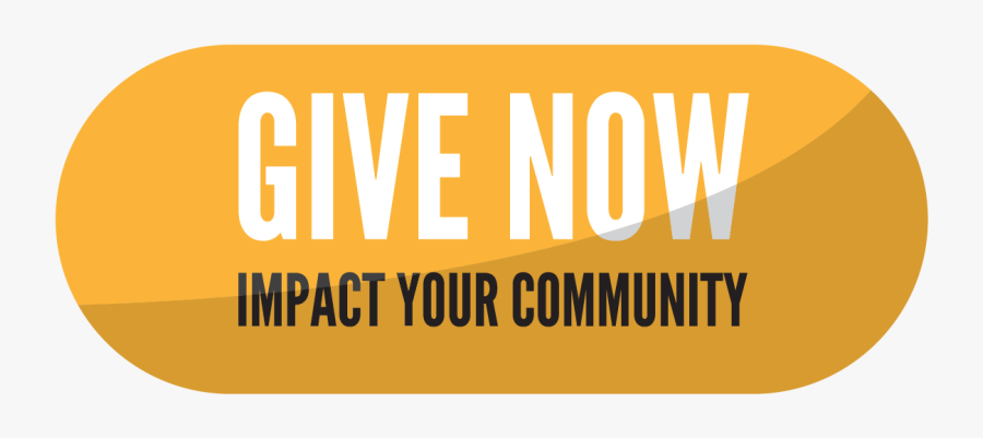 Give Today United Way Button, Transparent Clipart