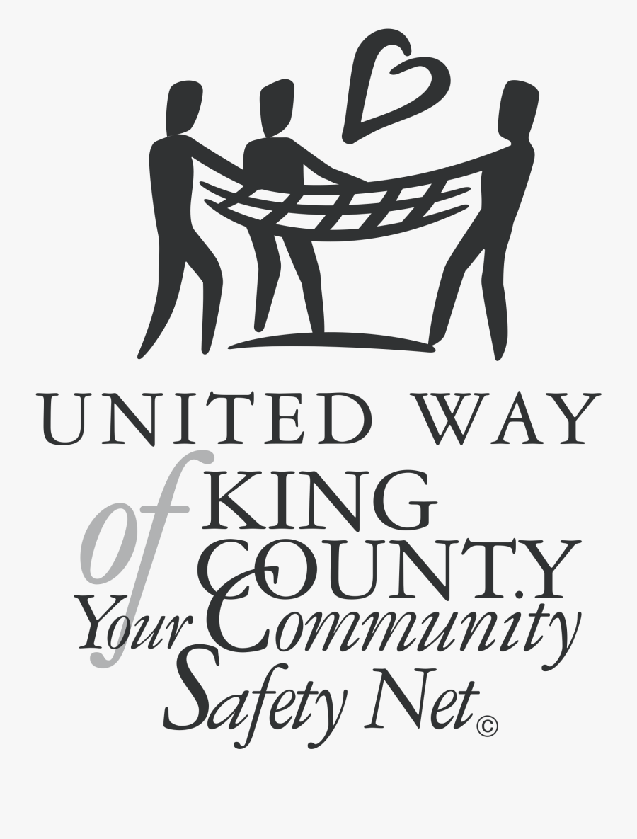 United Way Of King County Logo Png Transparent - Safety Net Png, Transparent Clipart