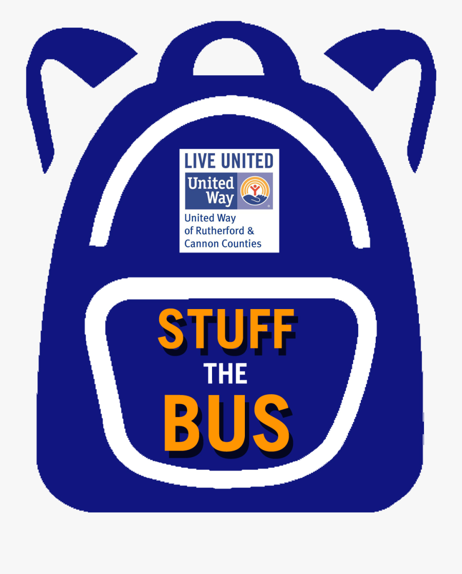 United Way Stuff The Bus 2017, Transparent Clipart