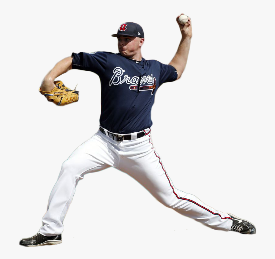 Sean Newcomb Throwing A Ball Png Image - Baseball Player Throwing Ball Transparent, Transparent Clipart