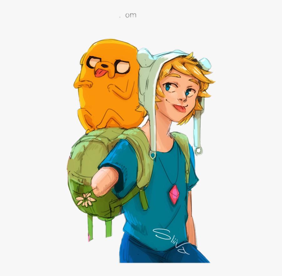 Finandjake Adventuretime Fin Jake Cute Freetoedit - Jake Adventure Time Human, Transparent Clipart