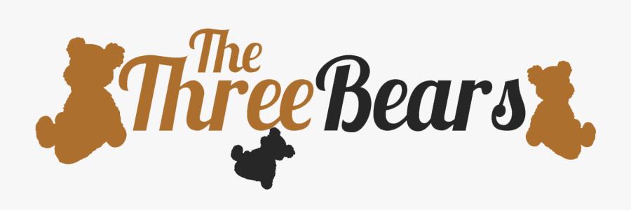 Goldilocks And The Three Bears Chicago Bears Logo - Three Bears Logo, Transparent Clipart