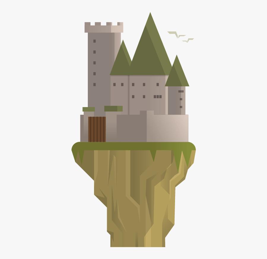 Medieval Architecture - House, Transparent Clipart
