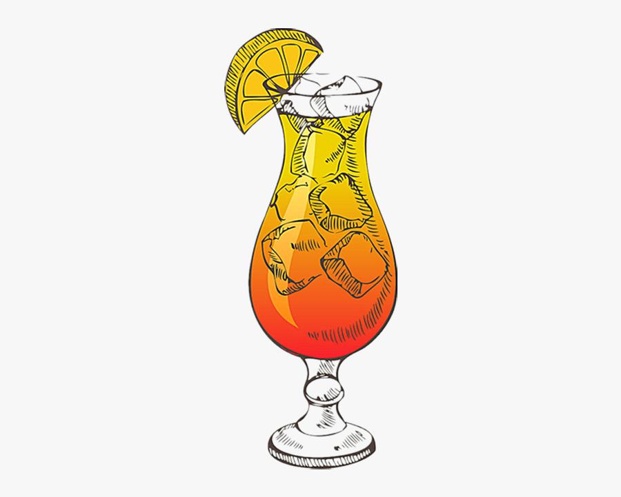 Cocktails Clipart Retro Cocktail - Cocktail, Transparent Clipart