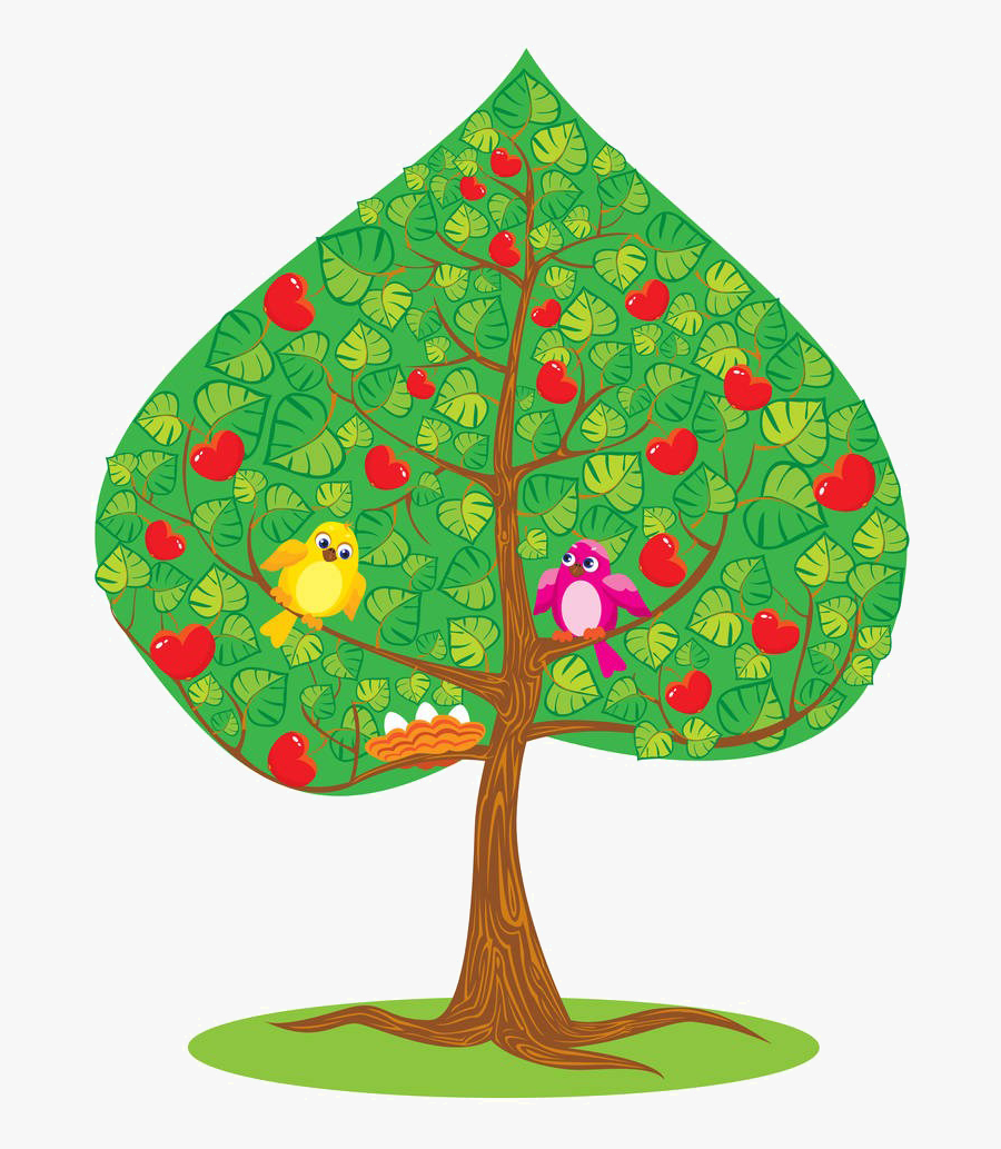 Clipart Leaf Apple Tree - Summer, Transparent Clipart