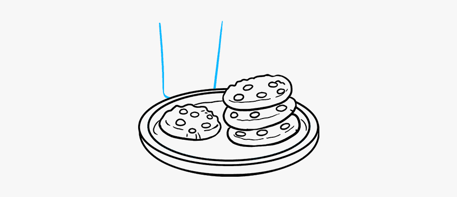 How To Draw Cookies - Cookies Draw, Transparent Clipart
