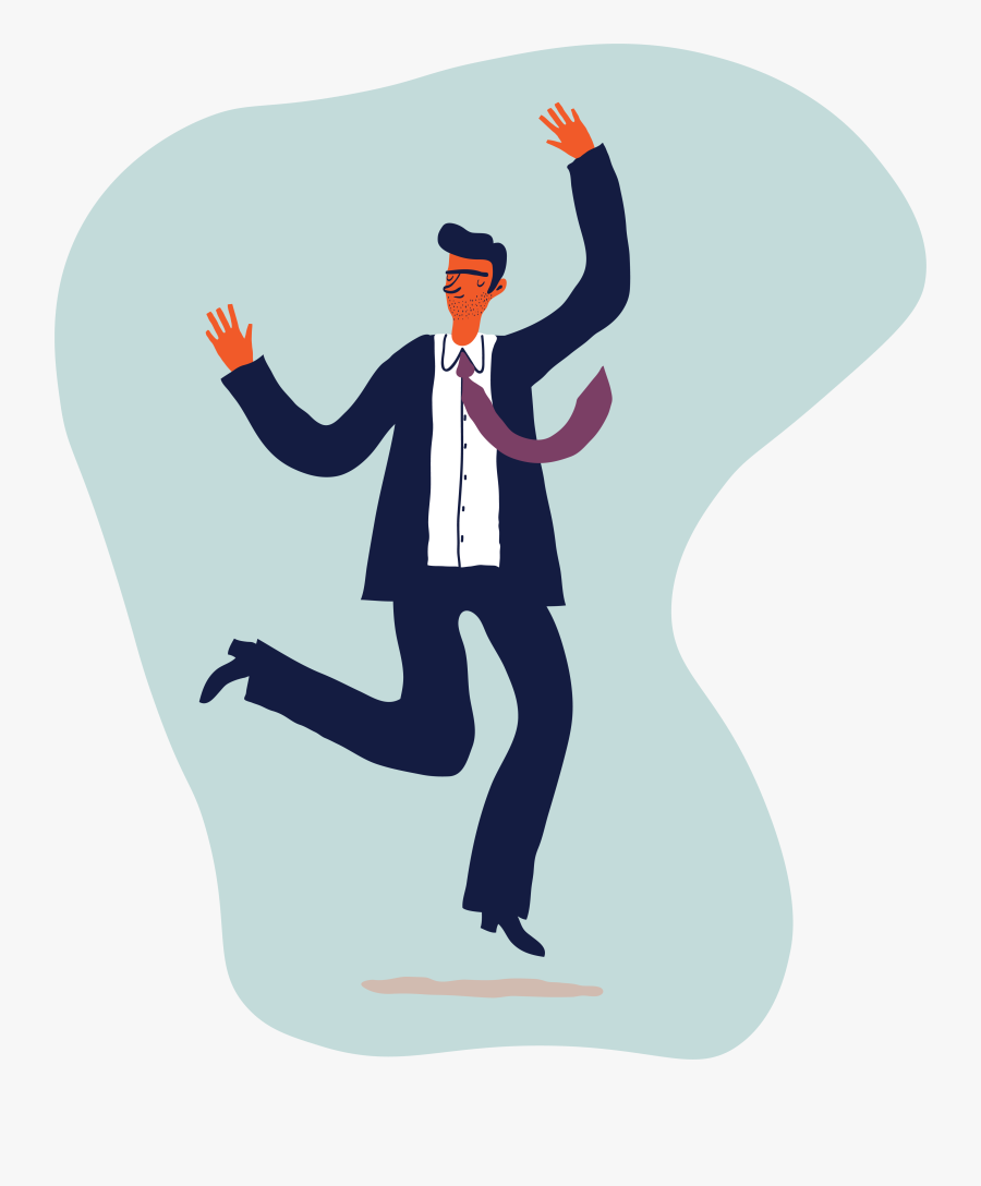 Happy Manager, Transparent Clipart
