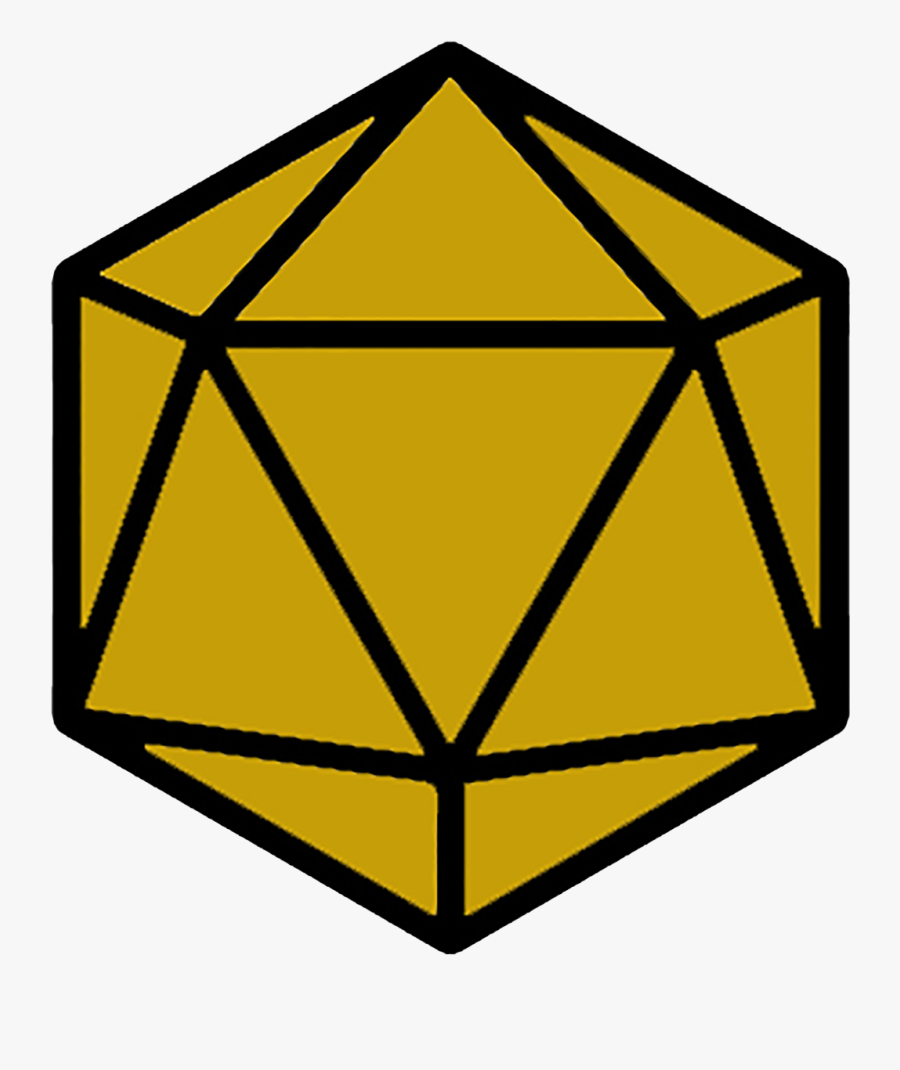 Featured Image - 20 Sided Dice Transparent, Transparent Clipart