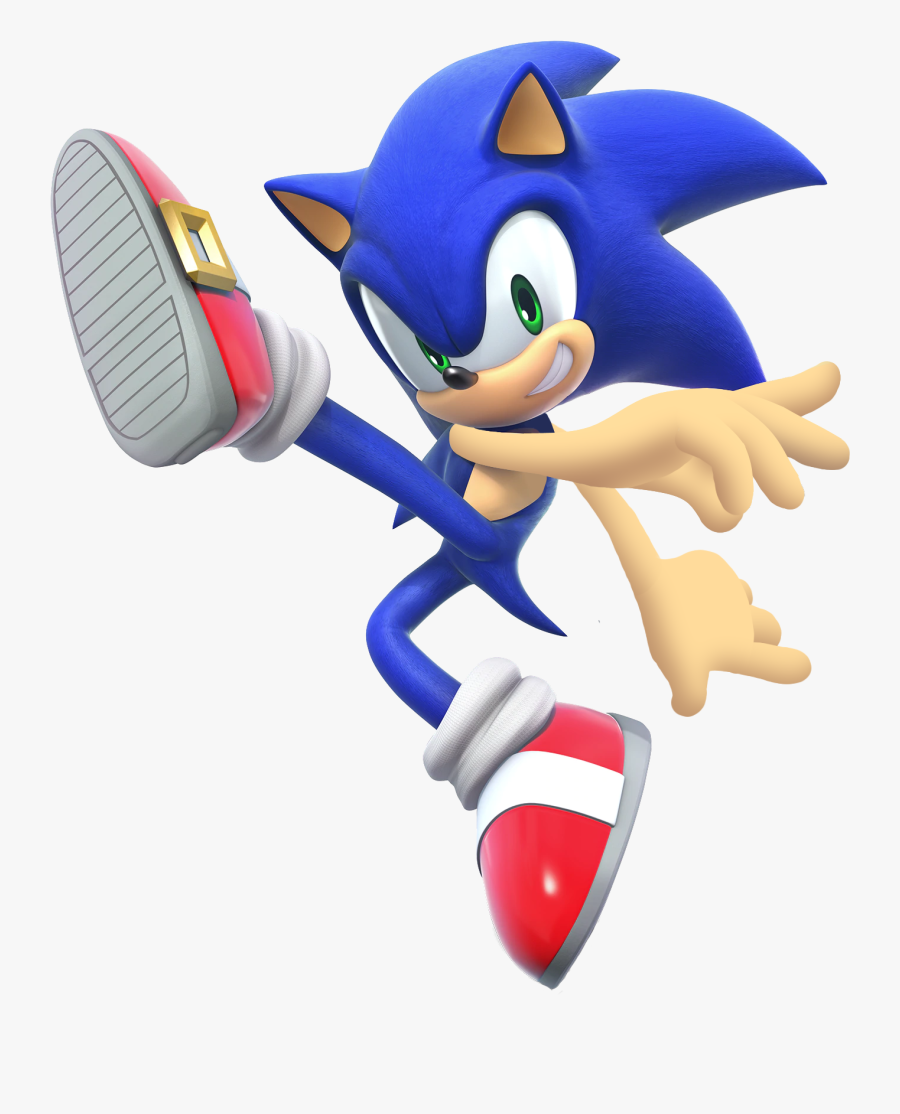 I Was Bored On Photoshop And This Happened - Super Smash Bros Ultimate Sonic, Transparent Clipart