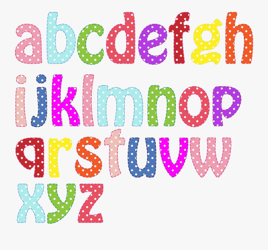 Letter Clipart Alphabet - Colorful Alphabet Small Letters, Transparent Clipart
