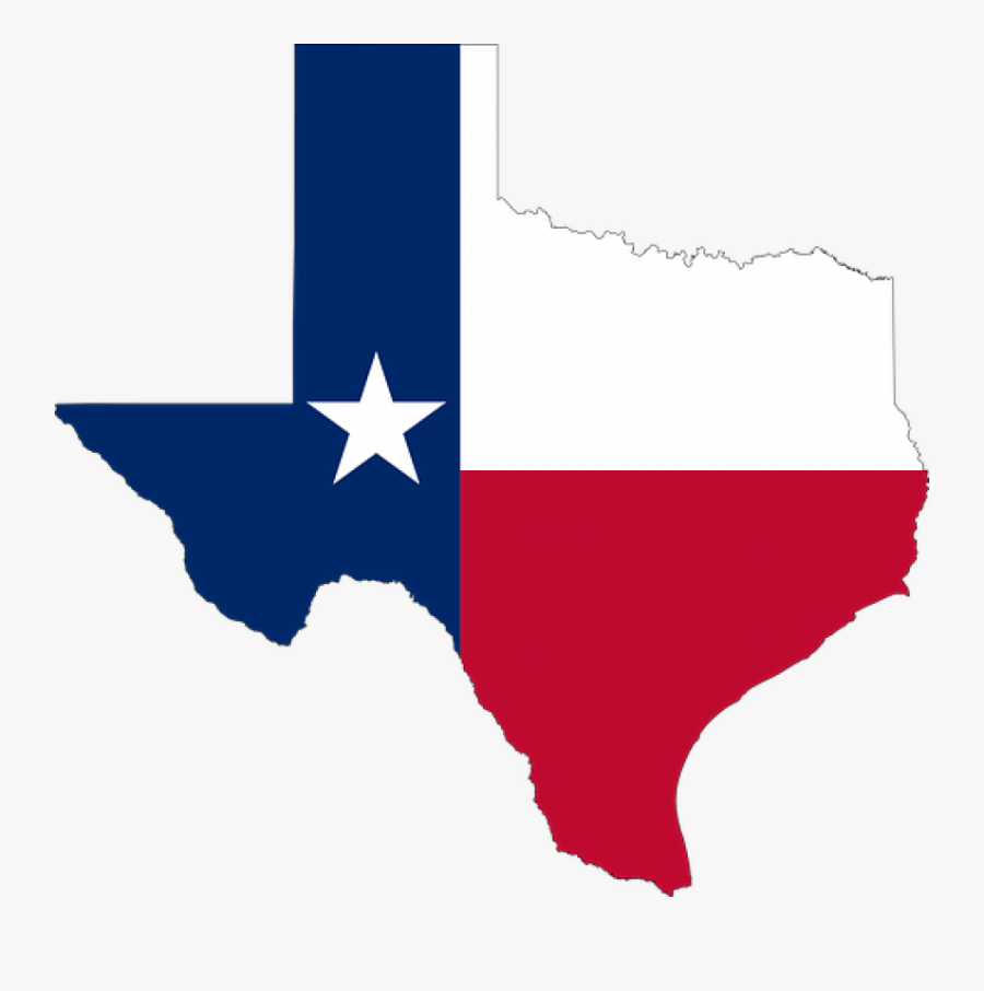 Line,angle,flag - Texas State Flag Png, Transparent Clipart