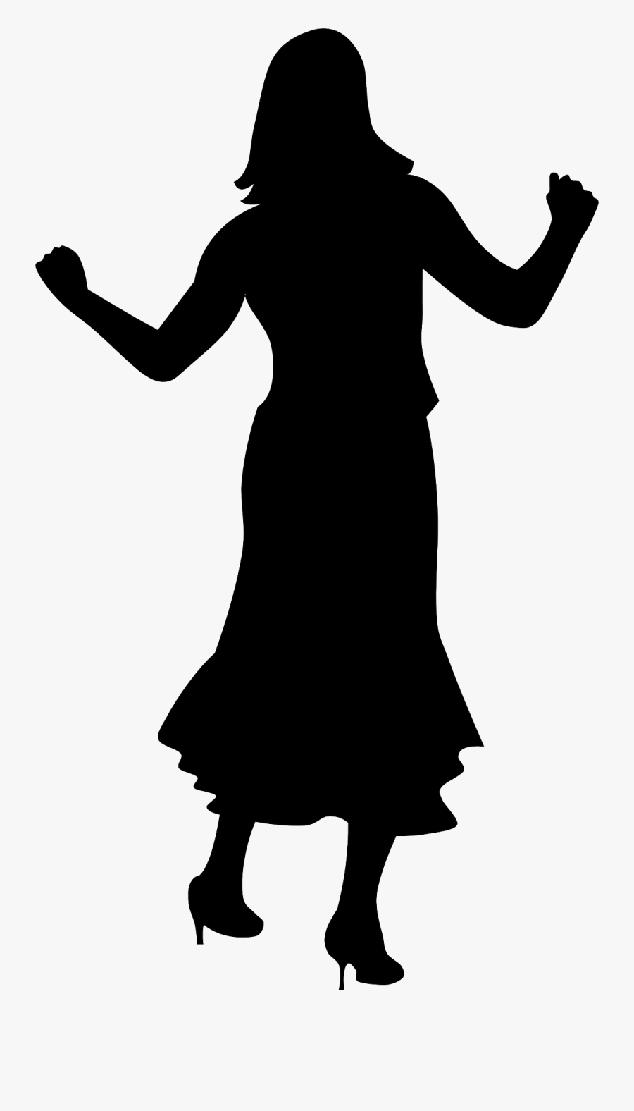 Girl Dancing Silhouette Dance Clipart Vector Png Free Transparent Clipart Clipartkey
