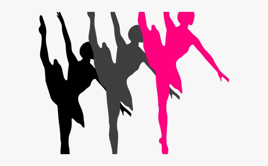 Transparent Clipart Of Dancing - Ballet Dancer Silhouette, Transparent Clipart