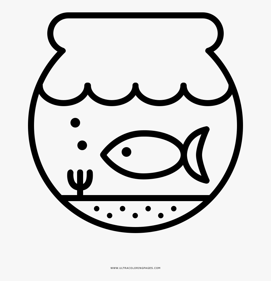 fish bowl coloring page coloring book free transparent clipart clipartkey fish bowl coloring page coloring book