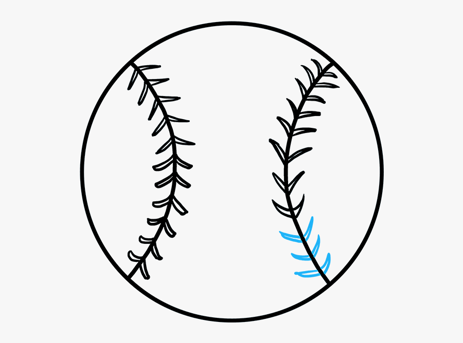 How To Draw A Baseball How To Draw A Baseball Really - Draw A Baseball, Transparent Clipart