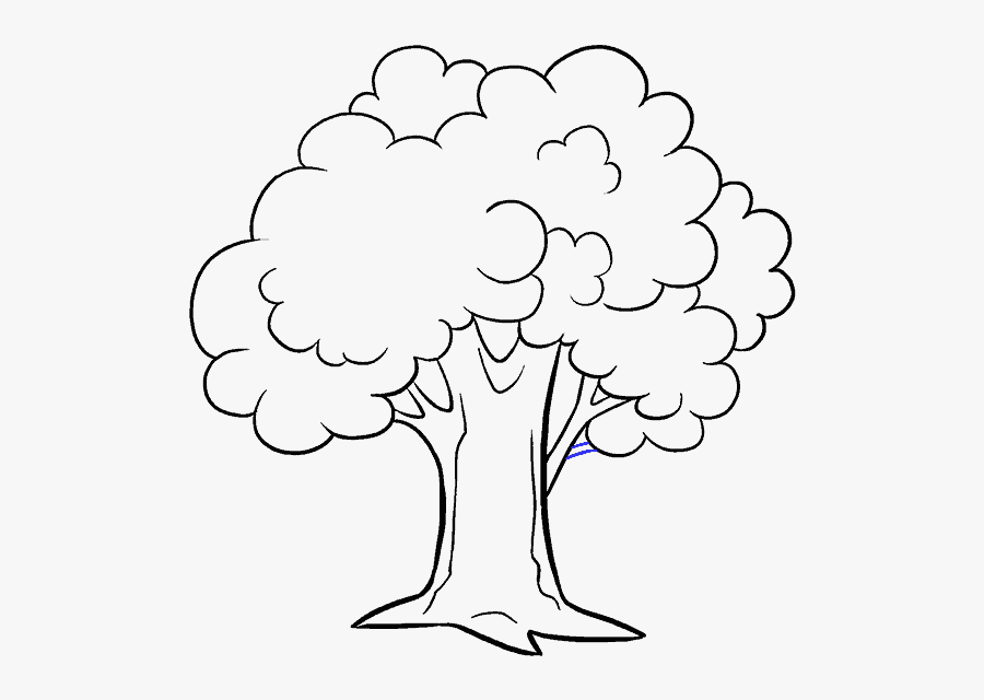 Gum Drawing Tree Trunk Transparent Png Clipart Free - Tree Drawing, Transparent Clipart