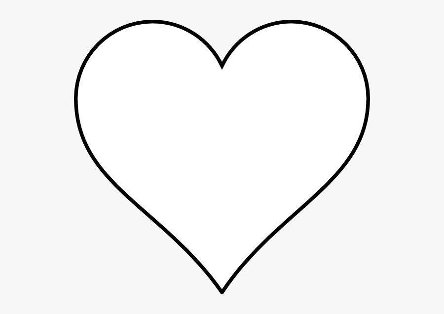 Image Result For Heart Line Drawing Clip Art - Clip Art Heart Outline, Transparent Clipart