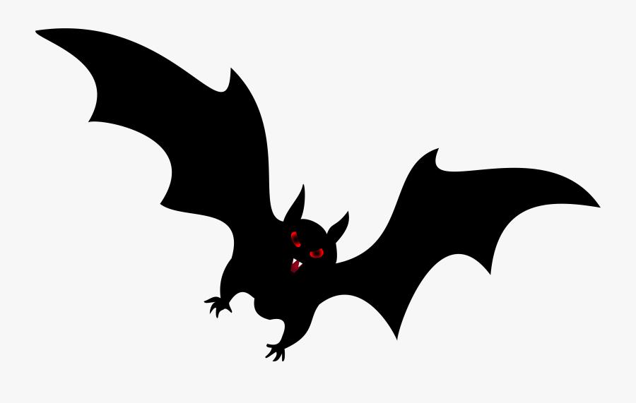 Halloween Png Clip Art - Halloween Bat Cartoon Png, Transparent Clipart