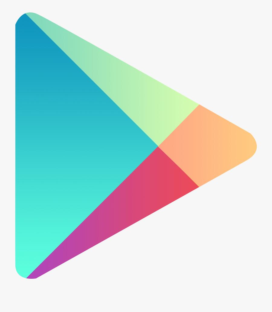Google Clipart Transparent - Play Store Logo Png, Transparent Clipart