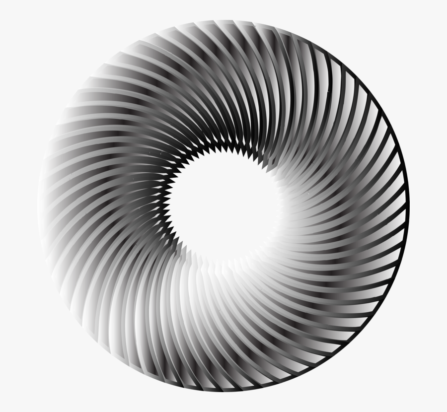 Close Up,monochrome Photography,spiral - Portside Fish Co, Transparent Clipart