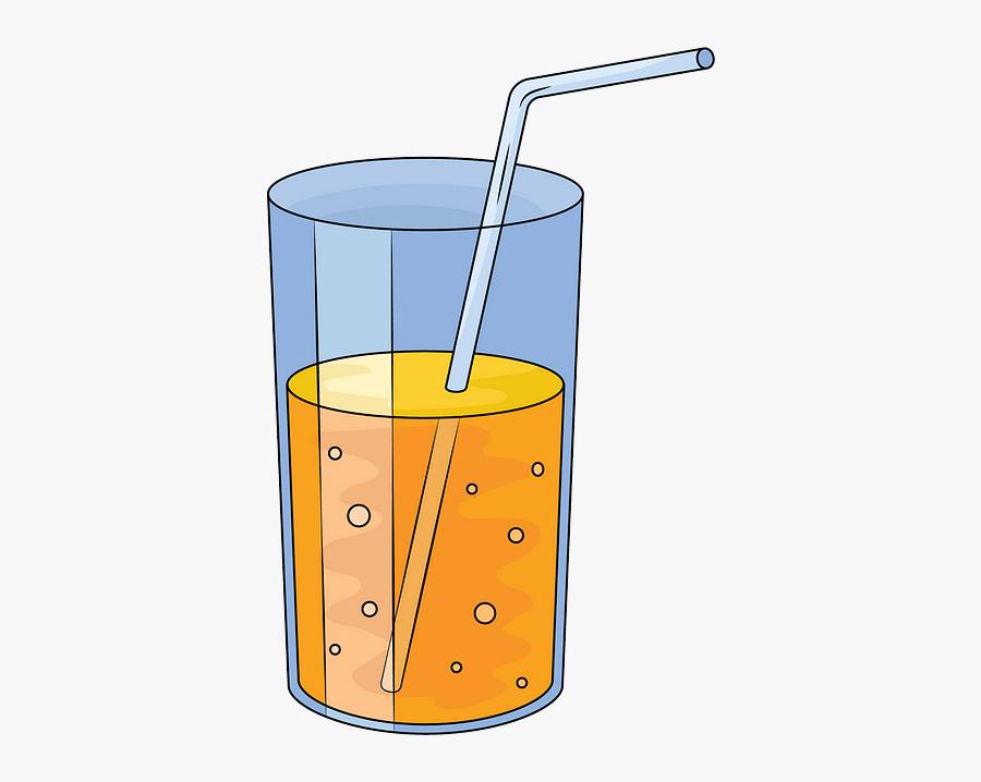 Orange Juice, Transparent Clipart