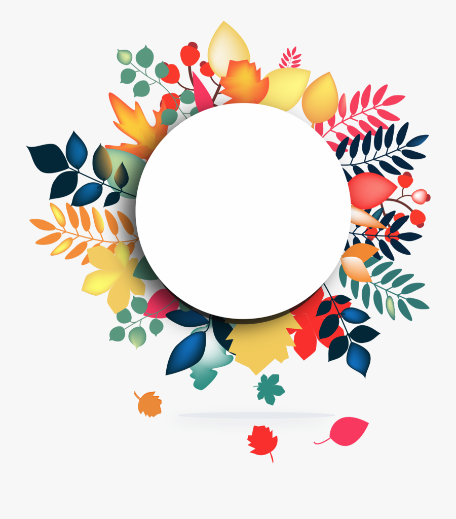Clipart Circle Watercolor Floral Frame Vector Png Free
