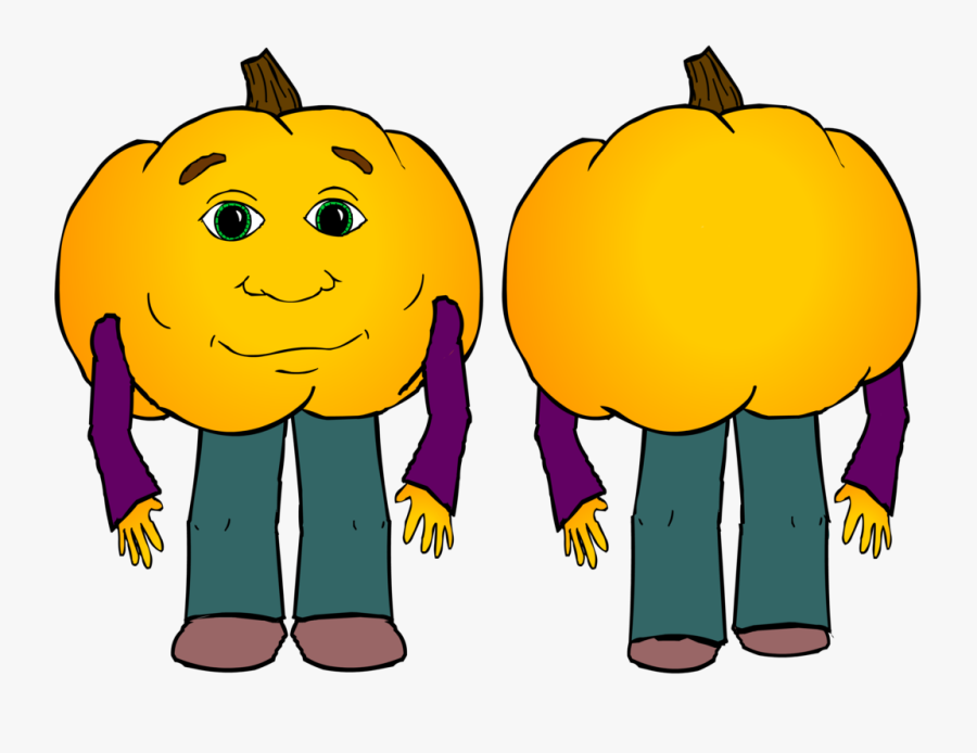 Pumpkin I M Very Hungry, Transparent Clipart