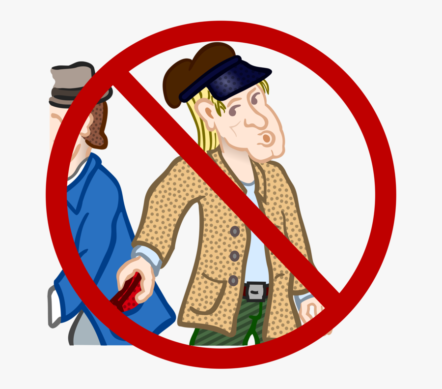 Transparent Theft Png - Keep Out Of Sight, Transparent Clipart