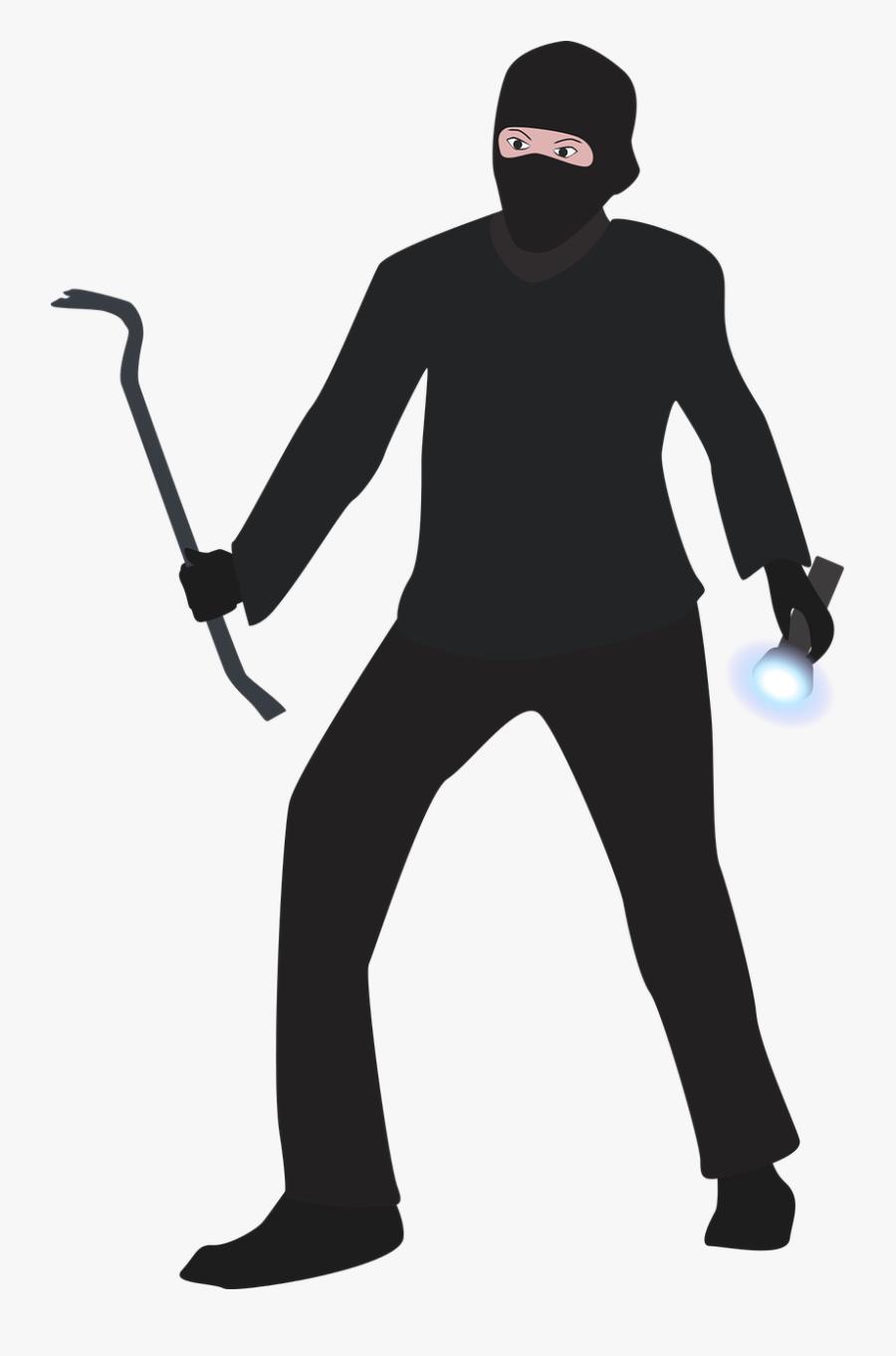 Burglar Png, Transparent Clipart