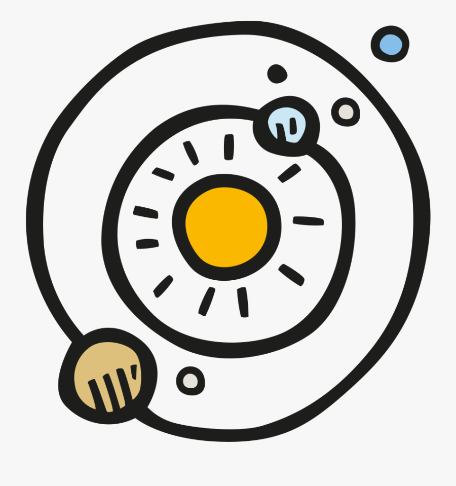 Solar System Icon , Png Download - Solar System Png, Transparent Clipart