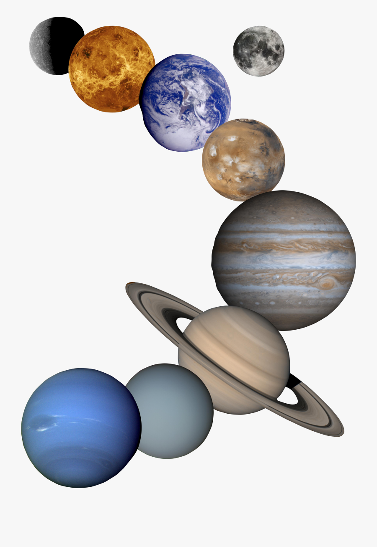 Unique Solar System Png Image - Solar System Planets Png, Transparent Clipart