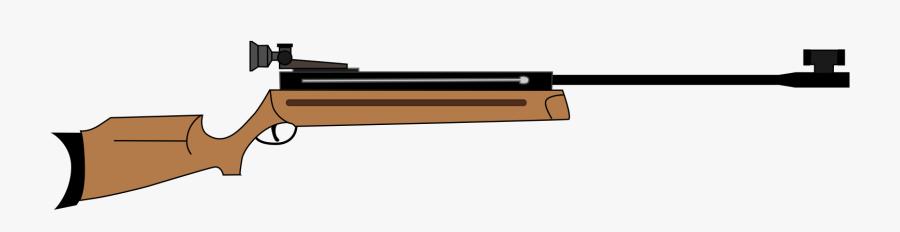 Air Rifle Clip Art - Sport Shooting Gun, Transparent Clipart