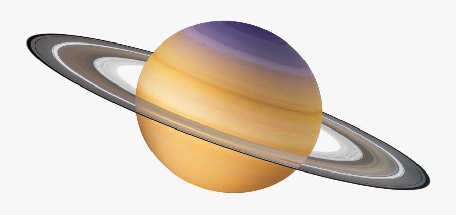 Transparent Planet - Solar System Planets Saturn, Transparent Clipart
