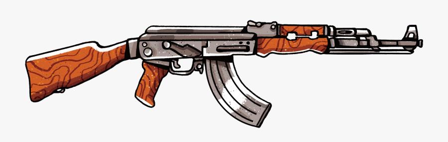 Pubg Clipart Gun - Transparent Background Pubg Png, Transparent Clipart