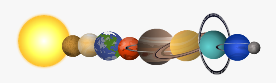 Solar System Planets Png, Transparent Clipart